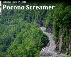 June Pocono Screamer Ride