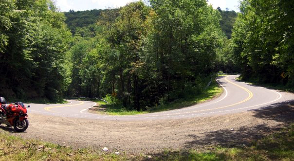 Hairpin Curve near Williamsport, PA